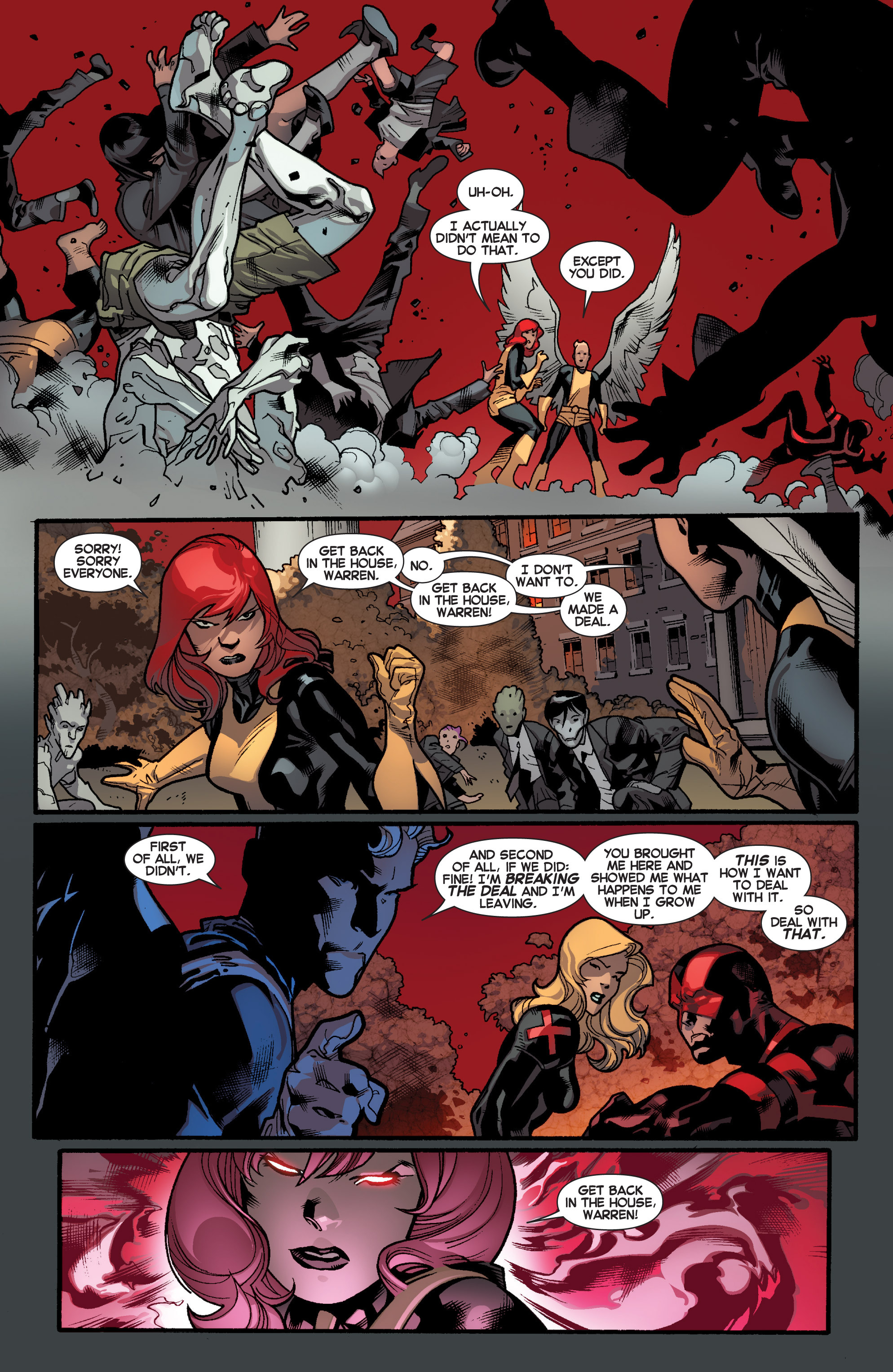 Read online All-New X-Men (2013) comic -  Issue # _Special - Out Of Their Depth - 8