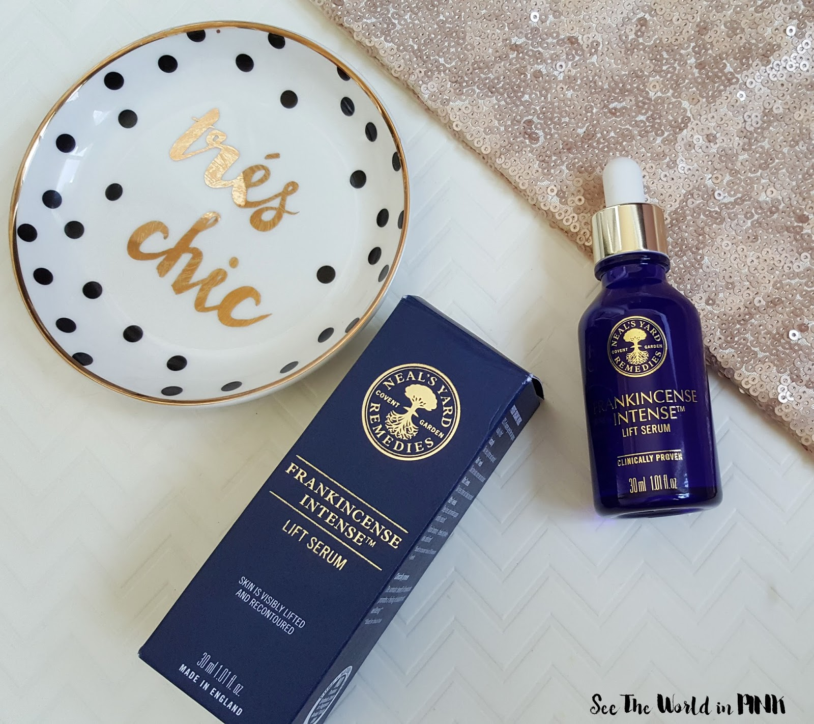 "Skincare Sunday - Neal's Yard Remedies ""Frankincense Intense Lift Serum"" Review"