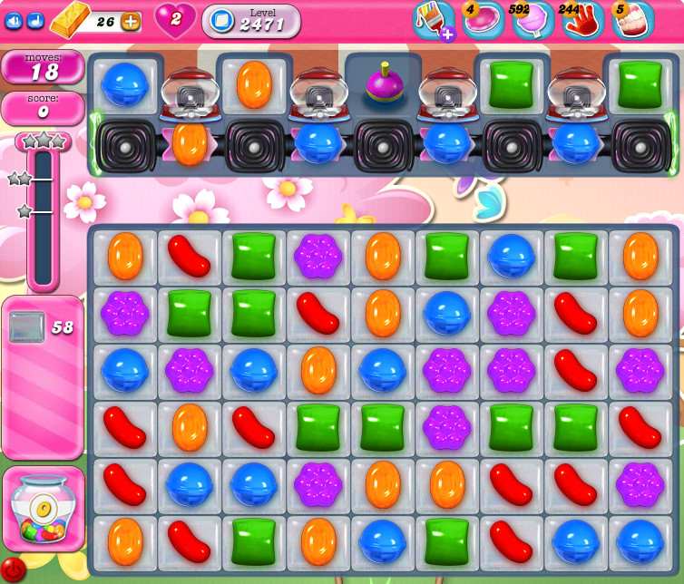 Candy Crush Saga level 2471