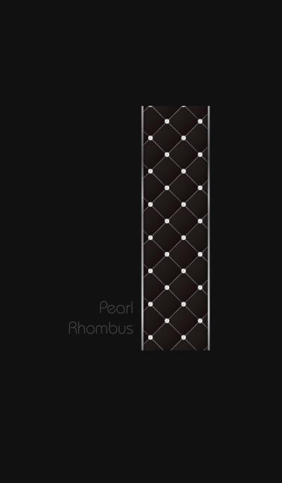 Pearl Rhombus- White