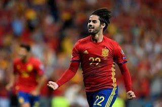 فوز تاريخي لمنتخب اسبانيا على منتخب الأرجنتين 6-1 في غياب ميسي