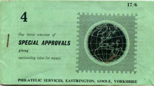 Approvals: Philatelic Services Eastrington