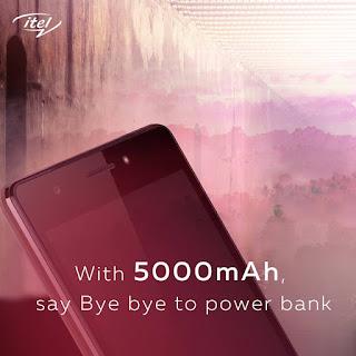 Itel P51 MaxPower battery