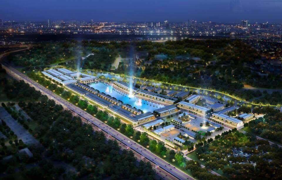 phối cảnh tổng quan dự án lakeview city