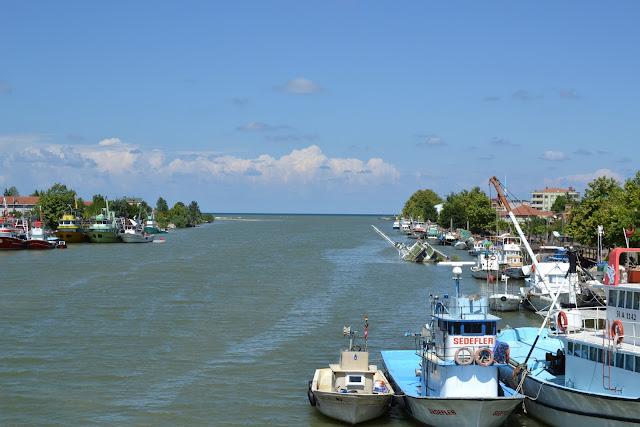Sakarya Nehri'nin Karadeniz'e döküldüğü yer.