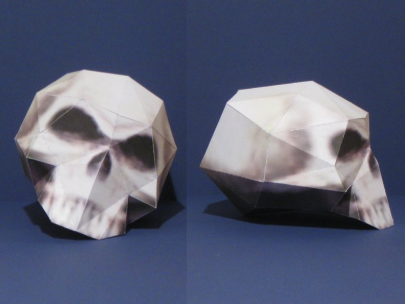 My Second Video Game Skull Papercraft Is Complete This Appears In The Shop League Of Legends A Online