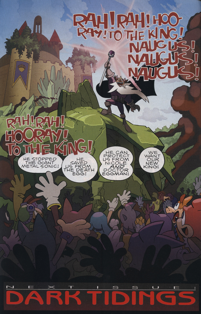 Read online Sonic The Hedgehog comic -  Issue #231 - 24
