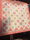Strawberries 'n Cream  Quilt
