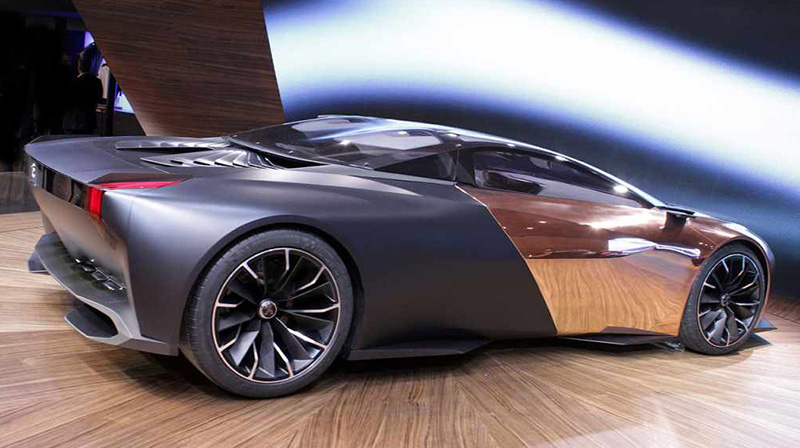 Peugeot S Onyx Concept Supercar Superbike And