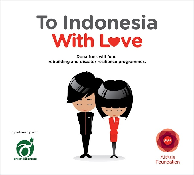 To Indonesia with Love - Be a part of our #ToIDwithLove effort
