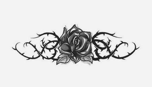 Dibujos De Flores Para Tatuajes Guatelinda