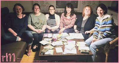 Stampin' Up! rosa Mädchen Kulmbach: Teamtreffen bei Moni in Coburg - die Swaps