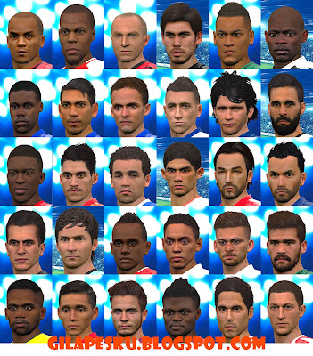 PES 2016. Real Face PES 2017 to Fake Face PES 2016