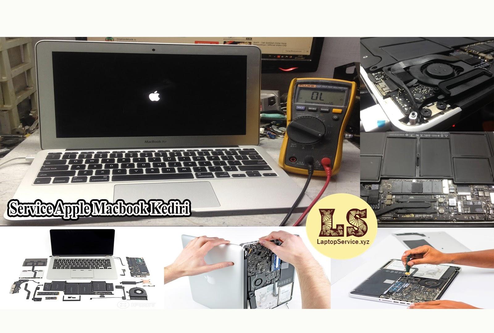 Tempat toko perbaikan service apple macbook termurah di kediri