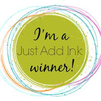 I was a Just Add Ink winner!