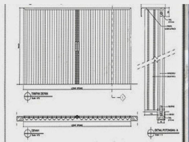 Produk Folding Gate