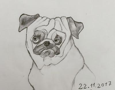 Köpek Resmi çizimi
