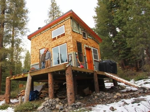 Living Off The Grid Cabin