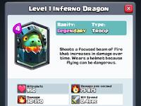 Inferno Dragon, Kartu Legendary Terbaru