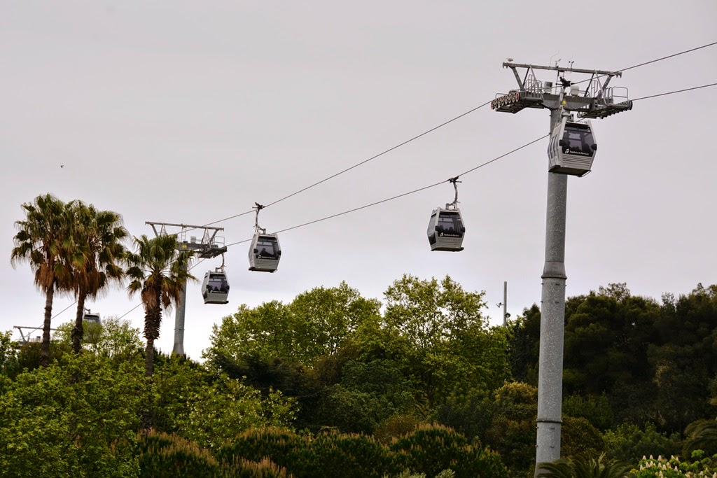 Montjuic Barcelona cable car