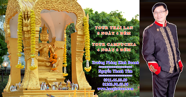 Thông tin họp đoàn tour Thái Lan của công ty Pacific Travel