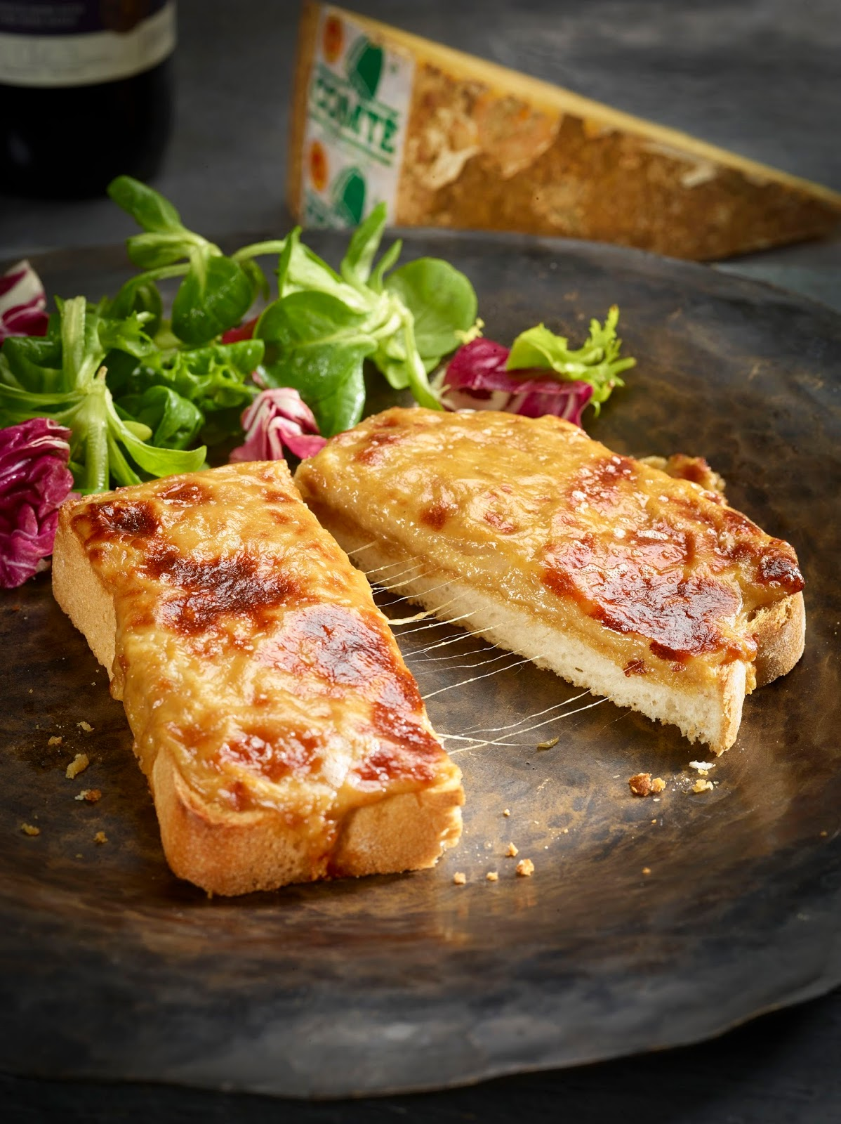 How To Make Franco-Welsh rarebit With Comté