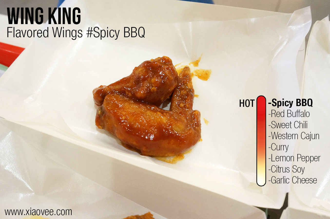 Wing King Surabaya, flavored wing king spicy BBQ