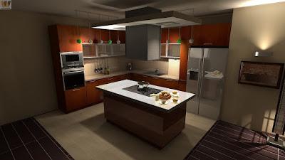 gambar dekorasi dapur terbaik