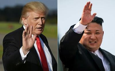 ترامب وزعيم كوريا الشمالية وجها لوجه