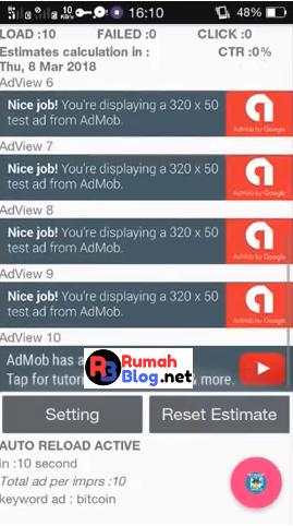 Tools Rampok Admob 2018 V2  - Download Gratis Tools Admob Auto Impression 2018