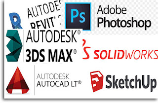 Kursus Autocad 3ds max Solidworks Revit Archicad Sketchup inventor Photoshop di Bandung