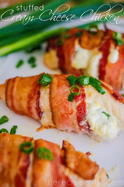 Easy Stuffed Cream Cheese Chicken Dish Recipe #easychickenrecipe #chickenrecipe #chicken #dish #dinner