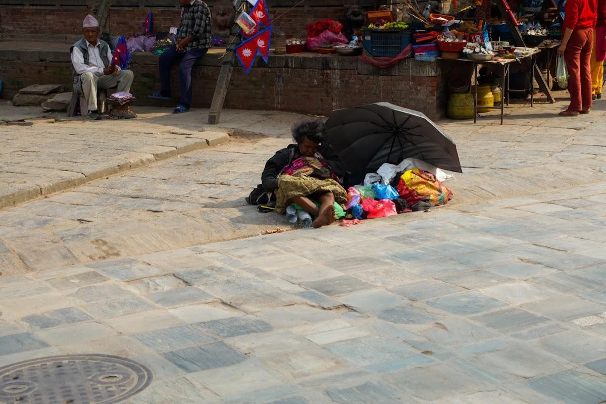 200км по красно-белым черточкам.. Around Annapurna. март-апрель 2017