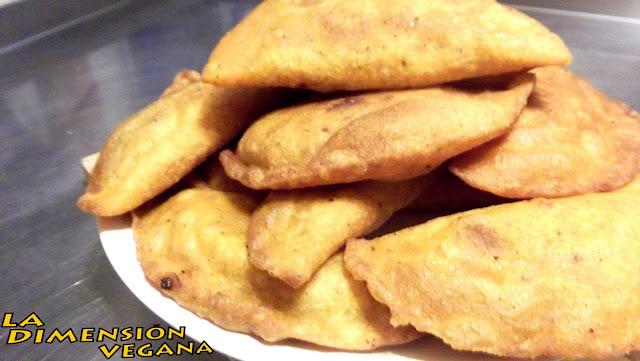 Empanadas de carne vegetal sin gluten