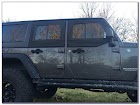 Jeep Upper Doors GLASS Sliding WINDOWS