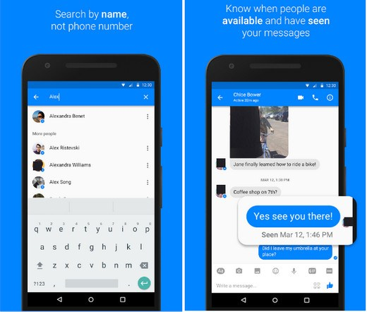 تحميل برنامج فيسبوك ماسنجر للاندرويد Facebook Messenger