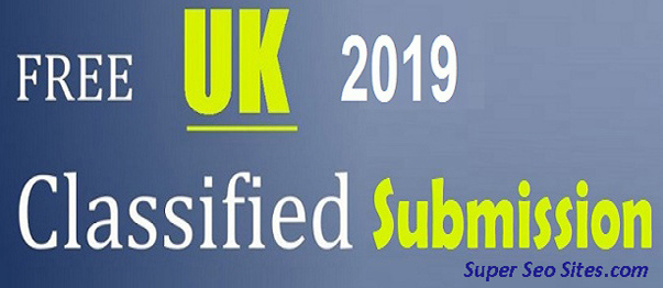 UK Free Classified Sites List 2019