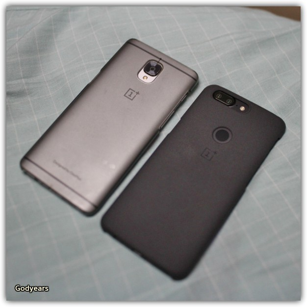 The changes between the OnePlus 3 and the OnePlus 5T are more obvious in the back - the dual camera and the FingerPrint Sensor make the latter stand apart.