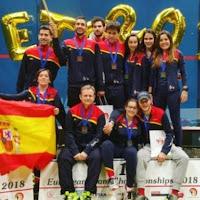 SQUASH - Bronce histórico para la selección española masculina en el Europeo de Polonia