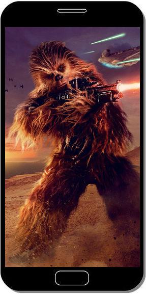 Chewbacca - Solo a Star Wars Story - Fond d'Écran en QHD pour Mobile