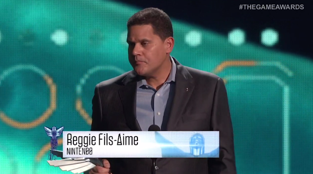 Reggie Fils-Aime Nintendo of America The Game Awards Splatoon