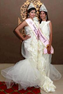 Foto Nikita Sharma sebagai Pemenang India putri International 2012
