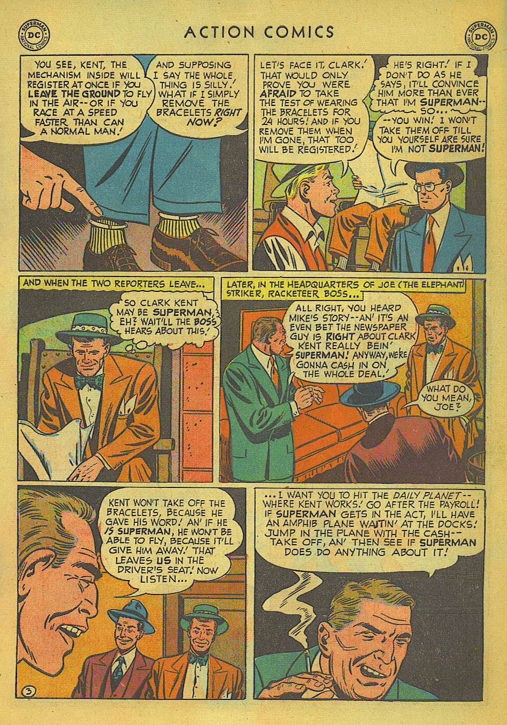 Read online Action Comics (1938) comic -  Issue #157 - 4