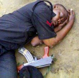 policeman dies thunderbolt lagos hotel