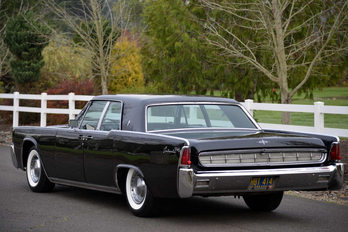 Iconic 1963 Lincoln Continental Offered At Auction With No