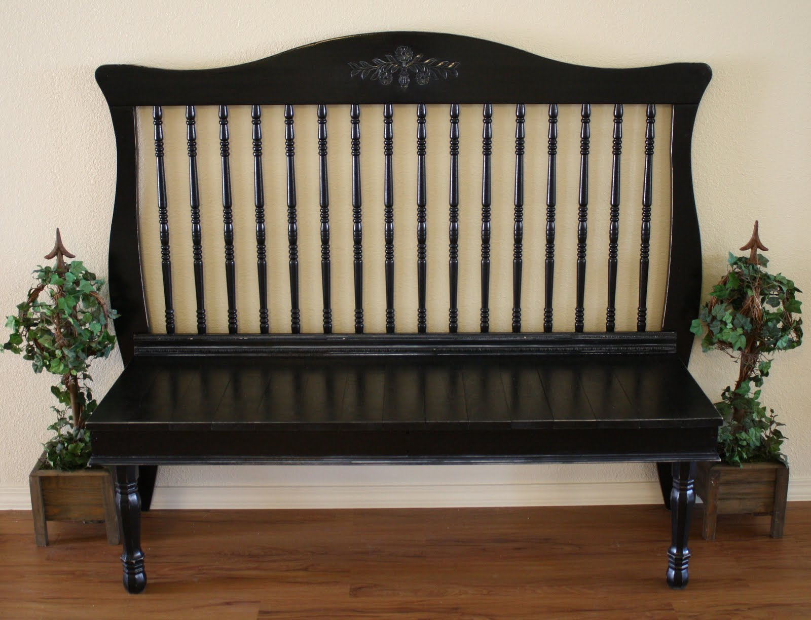 Turn a Crib Into a Bench | Repurpose Furniture: The Best Way To Upgrade Your Home Living Economically