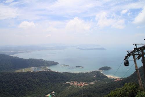 Teleférico para a ilha de Langkawi - Malásia