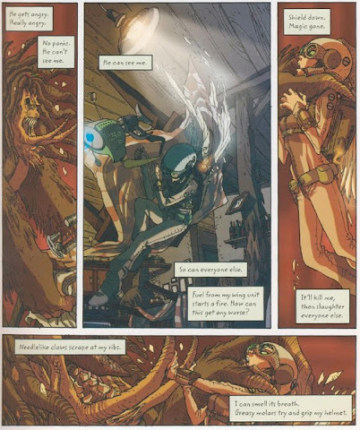 Sample Page 2 of Artemis Fowl: The Graphic Novel