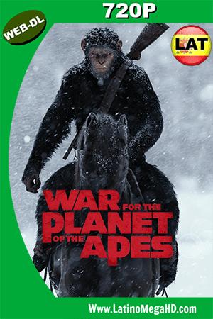 El Planeta De Los Simios: La Guerra (2017) Latino HD Web-Dl 720p ()