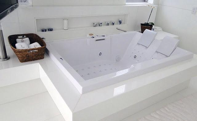 Banheiro com nanoglass